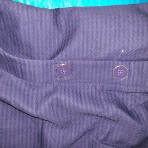 Lilly  Pulitz navy blue w buttons the fat the fa